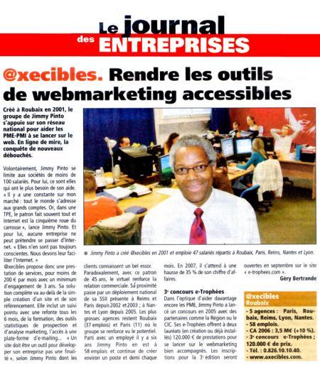 Le Journal des Entreprises (Juin 2007)