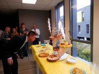 Didier, notre directeur Commercial fête son anniversaire chez Axecibles