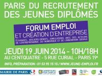 Forum Emploi de Paris le 19 juin, Axecibles vous y attend