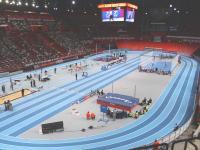 Axecibles aux championnats d'athlétisme elite en salle 2010